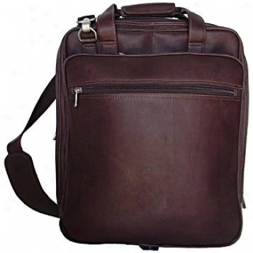Piel Leather  Goods     Small Laptop Backpack On Wheels