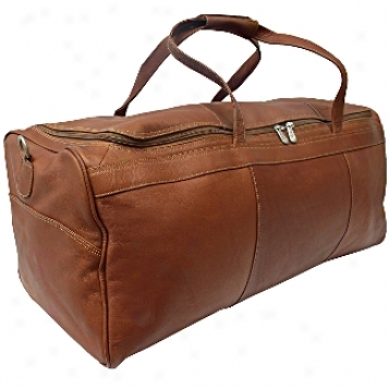 Piel Leather  Goods     Traveler's Select Large Duffel Bag