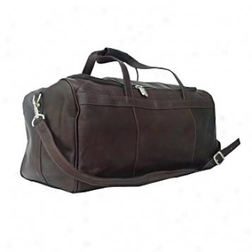 Piel Leather  Goods     Traveler's Select Medium Duffel Bag