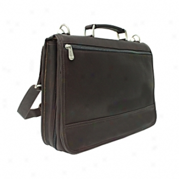 Piel Leather  Goods     Two Section Expandable Portfolio