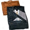Royce Leather  Carry On All Leather Suiter