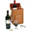 Roycr Leather  Critic Wine Carrier
