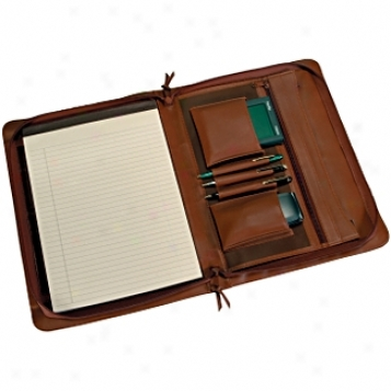 Royce Leatheer  Executive Zip Around Padfolio