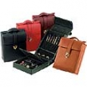 Royce Leathee  Ladies' Pocketbook Jewelry Case