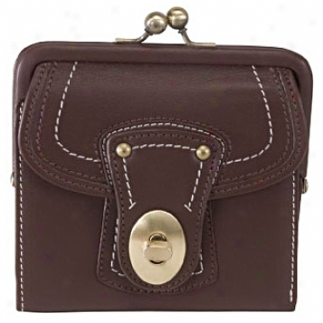 Royce Leather  Leather French Purse