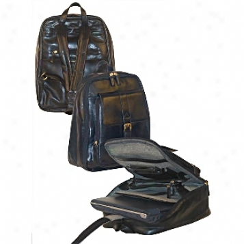Scully  Leather Commodities              Computer Backpack