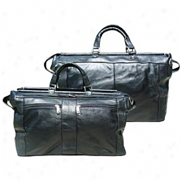Scully  Leather Goods              Large Carpet Bag