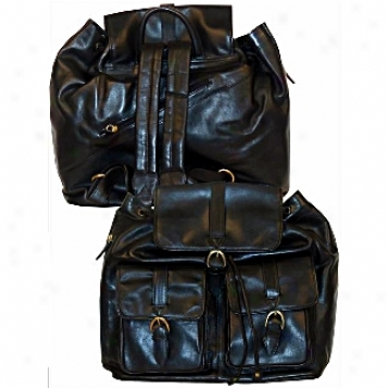 Scully  Leather Goods              Leather Backpack