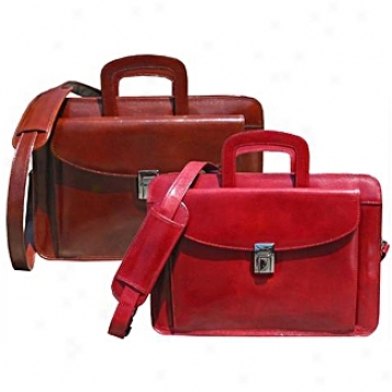 Scully  Leather Goods              Mini Briefcase
