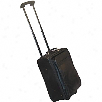 Scully  Leather Goods              Wheeled Carry-on
