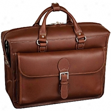 Siamod Manarola Giovani Leather Double Compartmejt Laptop Case