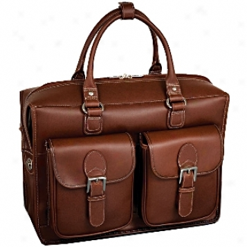 Siamod Manarola Mezzo Leather Double Compartment Laptop Case