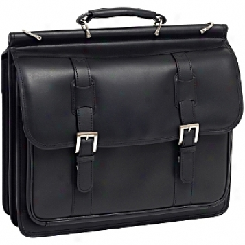 Siamod Manarola Signorini Leather Double Compartment Laptop Case