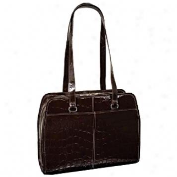 Siamod Monterosso Fegina Leather Ladies' Laptop Tote