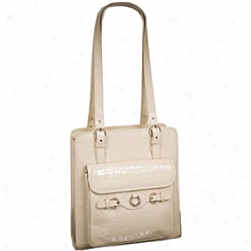 Siamod Monterosso Genova Leahter Vertical Ladies' Laptop Tote