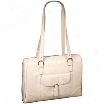 Siamod Monterosso Molinelli Leather Ladies' Laptop Tote