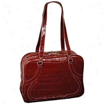 Siamod Monterosso Roma Leather Ladies' Laptop Tote