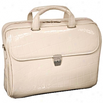 Siamod Monterosso Settembre Leather Medium Ladies' Laptop Brief