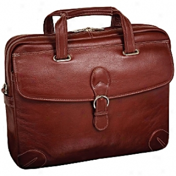 Siamod Vernazza Como Leather Medoum Laptop Brief
