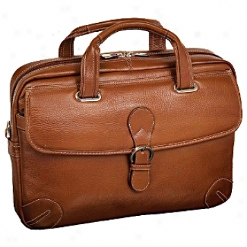 Siamod Vernazza Fontanlela Leather Large Laptop Brief