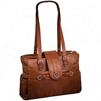 Siamod Vernazza Fratti Leather Laptop Tote