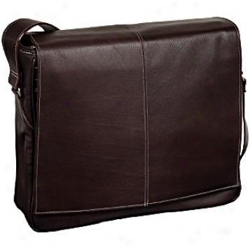 Siamod Vernazza San Francesco Leather Messenger Bag