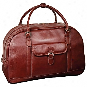 Siamod Vernazza Stalla Leather Duffel Bag