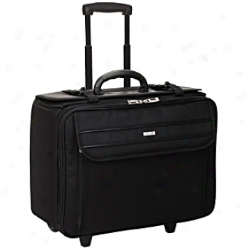 Solo Busijess Briefcases Ballistic Rolling Catalog Case W/ File Hanger