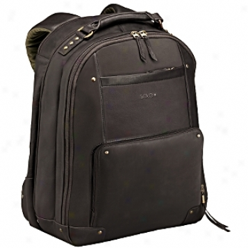 Solo Business Briefcases Vintage Laptop Backpack