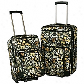 Sydney Love Travel          Cats & Dogs 2-piece Luggage Set