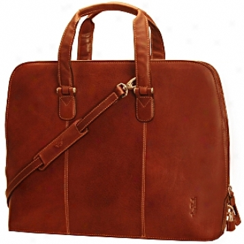 Tony Perotti Italico Colleftion Classic 17in. Zip Around Laptop Bag