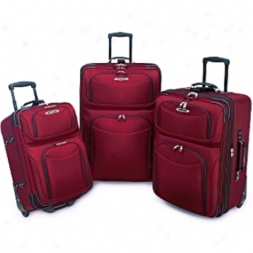 Travelers Choice Discount Luggage And Setd El Dorado 3-piece Set