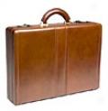 Winn Business Collecction Expandable Leather Attache