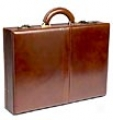 Winn Business Collection Leather Attache