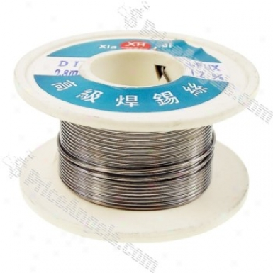 0.8mm Solid Solder Wire Core Roll - 1.2% Flux