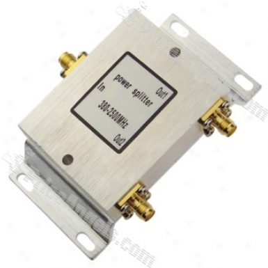 1-to-2 Sma Connector Antenna Splitter Combiner