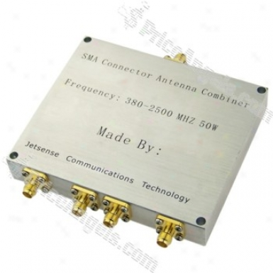 1-to-4 Sma Connector Antenna Splitter Combiner