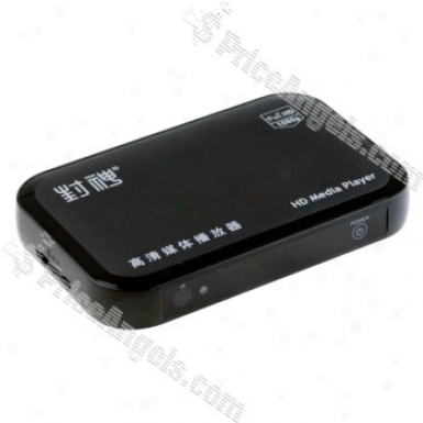 1080p Hd Portable Media Player With Sd/mmc/usb And Secluded Control-eu Stopple