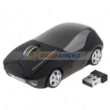 10m 2.4g Usb Wireless Optical Mouse For Pc Laptop(black)