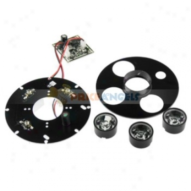 110mm Security Camera Ir Infrared Illuminator Board Plate With 30 Literary Lens