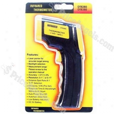 1.2-in Ld Non Contact Digital Infrared Thermometer With Laser Sight(-50-380 Celskus Degree)