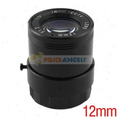 12mm /13-inch F1.2 Camera Lens For Cctv/surveillance Camera