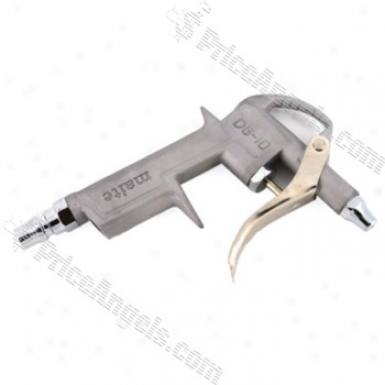 1/4-inch Air Blow Gun Duster Blower Handy Clean-up Tool(silver)