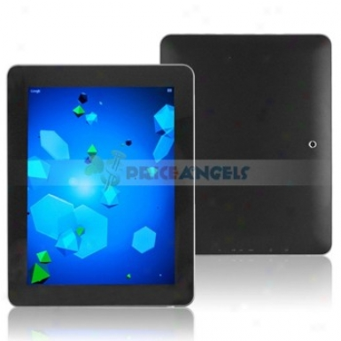 16gb Android 4.0.3 Cortex A8 1.5ghz Cpu 9.7-inch Capacitive Touch Screen Tablet Pc With Wifi Camera Functuon(black)