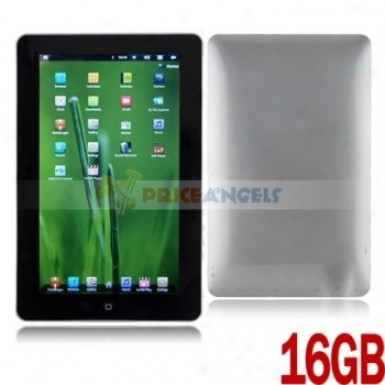 16gb Android 4.0.3 Cortex A8 1ghz 10.1-inch Resistance Touch Screen Tablet Pc Lapttop With Camera Wifi(silver)
