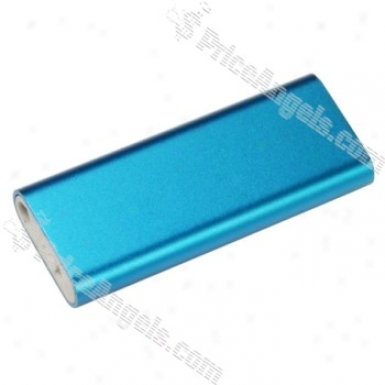 2-inch Portable 2gb Mp3 Idler With Clip(blue)