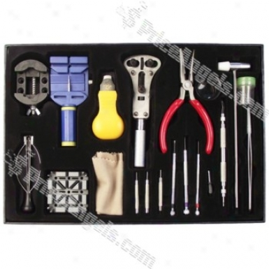 20-in-1 Professionak Wristwatch Disassembly And Repair Tool Kit