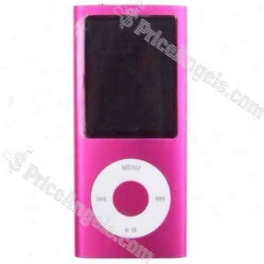 2.2-inch Lcd Tft Video / Photo Bulit-in Cqmera Mp3 / Mp4 Gamester (2gb) - Pink