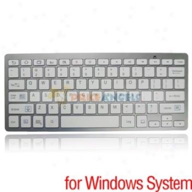 2.4ghz Mini Wireless Bluetooth Keyboard For Windows System