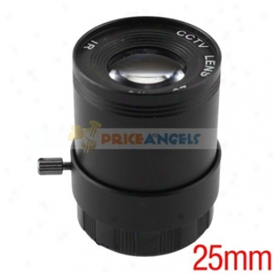 25mm 1/3-inch Ir Camera Lens For Cctv/surveillance Camera